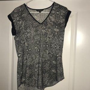 Express v-neck blouse